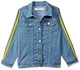 Blink Street Girl's Regular fit Jacket (BS-1297-12_L.Blue_7/8YR)
