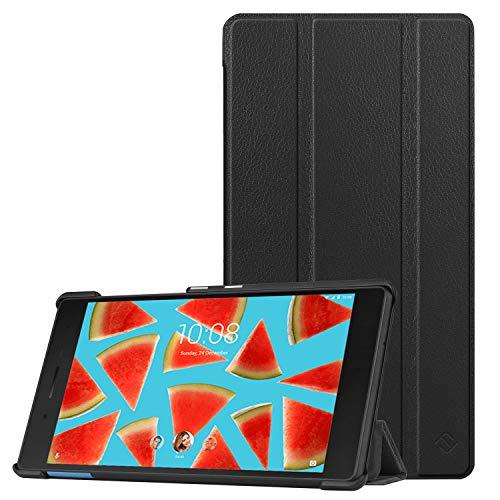 FINTIE Custodia per Lenovo Tab 7 Essential TB-7304F TB-7304I TB-7304X - Slim Custodia Protettiva Cover per Tablet lenovoTB-7304F / TB-7304I / TB-7304X Tablet Display da 7' Modello 2017, Nero