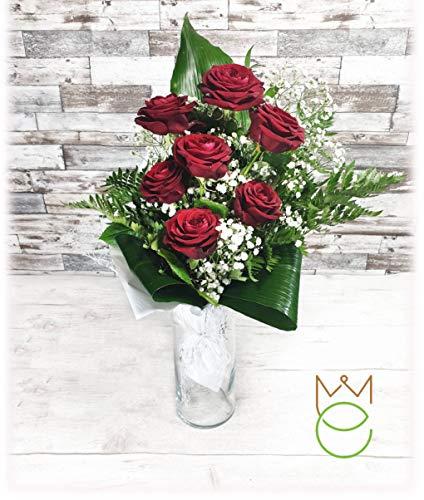 Mazzo di Rose Rosse Vere Fiori Freschi Diverse Quantità (7)