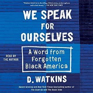 We Speak for Ourselves audiobook cover art