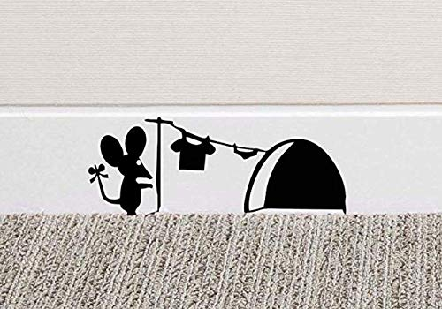 Lsv-8 Lsv-8 - Papel pintado de ratón, estante de secado para ratón, agujero de ratón, sala de estar, TV de fondo, decoración de pared, vinilo adhesivo para pared