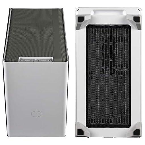 Cooler Master NR200 Caja Mini-ITX de Factor de Forma pequeño SFF Blanco con Panel ventilado, GPU de Triple Ranura, sin… 9