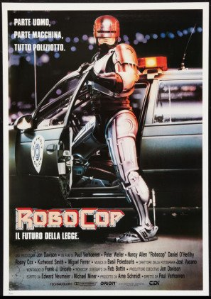 Robocop – Italian Movie Wall Poster Print - 43cm x 61cm / 17 Inches x 24 Inches A2