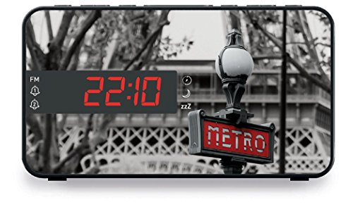 Big Ben, Radio Clock LED Display Metro