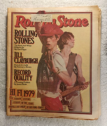Mick Jagger & Keith Richards - The Rolling Stones - Rolling Stone Magazine - #273 - September 7, 1978