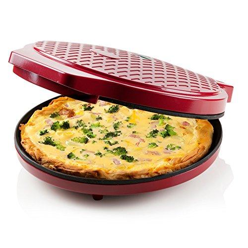 Express PIZZAPFANNE | für Pizza | Quiche | Omlett | Zubereitung in nur 12min | als PIZZABACKOFEN oder BRATPFANNE nutzbar