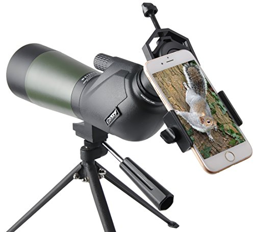 Read About Gosky 20-60x60 Spotting Scope for Target Shooting Bird Watching Wildlife Scenery - New BA...