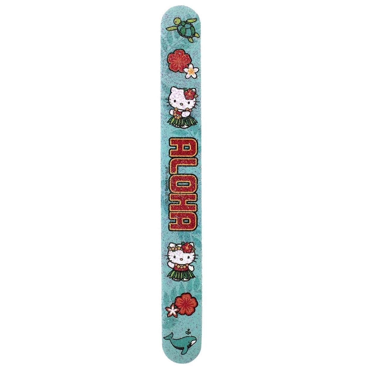 変数最大限クリスマスIsland Heritage ハローキティ エメリーボード(フラキティ)