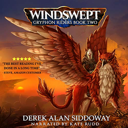 Windswept audiobook cover art