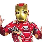 Rubie 's 39216NS Offizielles Marvel Avengers Iron Man Deluxe Kinder Maske Kostüm Zubehör,...
