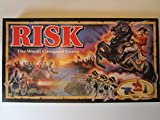 Parker Brothers Risk 1993 Board Game with Army Shaped Miniatures