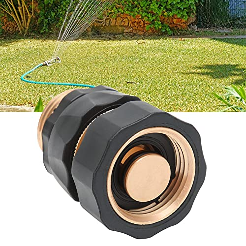 Meiyya Conector rápido, Conector de Manguera de jardín Conexión rápida de tubería de Agua para mangueras de jardín Tuberías de Agua, grifos, lavadoras.