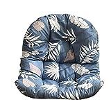 NIVNI Cojín para silla con forma de hamaca, 86 x 120 cm, para colgar, cojín suave para silla, extraíble y lavable, para colgar, sin silla