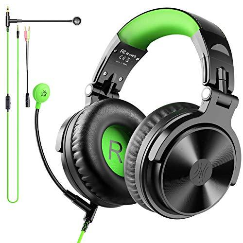 Casque Gaming avec Micro, OneOdio Casque Gamer PS4, Casque Audio Filaire avec 3.5mm Connecteur pour Xbox One Podcast PC Tablette Smartphone