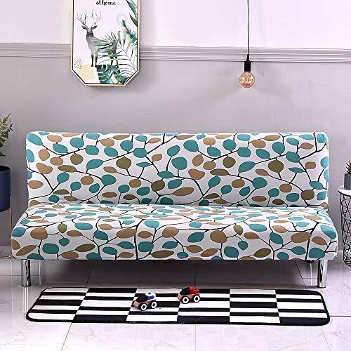 LiveGo Sofa-Schonbezug, ohne Armlehne, elastisch, geometrisches Muster, Sofa-Schonbezug, vollständig zusammenklappbar A-Blätter