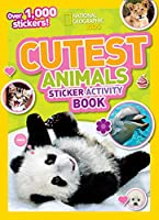 NGK Cutest Animal Sticker Activity Book (Special Sales UK Edition): Over 1,000 stickers!