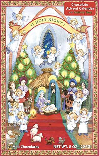 Vermont Christmas Company O Holy Night Chocolate Advent Calendar & Nativity Story