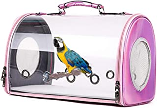 Gatycallaty Bird Cage with Perch Dog Cat Backapck Puppy Carrier Bag Travel for Outside