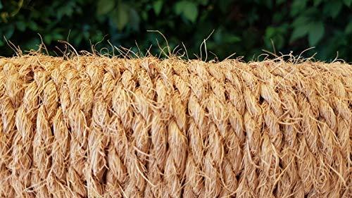Kokosseil 7 mm – Baumanbinder aus Kokosfaser – ungefärbte Naturfaser – 50 m - 6