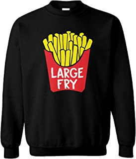 Large Fry - French Fries Fast Food Unisex Crewneck Sweatshirt