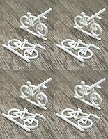 模型材料 BYC-100A アクリル自転車(1/100) 8個入り