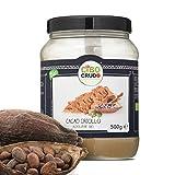 CiboCrudo Cacao in Polvere- 500 gr - Cacao Powder, Biologico Naturale e Puro al 100%, Fave di Cacao Criollo, Ricco di Minerali e Vitamine