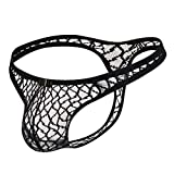 Men's Thongs Underwear Sexy Lace G-String