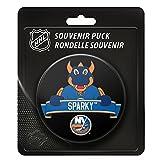 New York Islanders Team Mascot NHL Souvenir Puck -