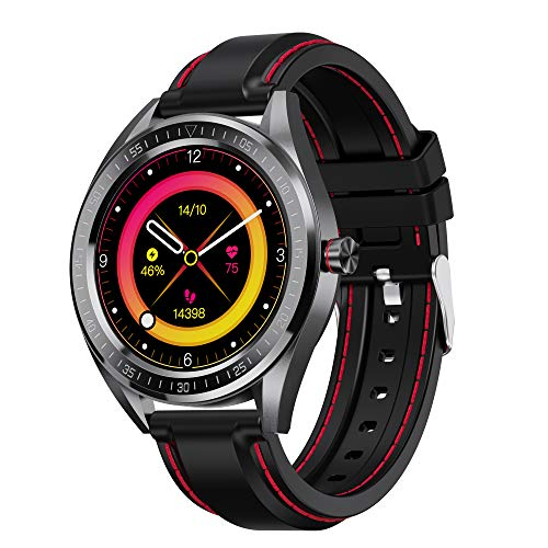 "OLADOT Smart Watch,with Activity Tracker with Blood Oxygen Monitor,GPS Smartwatch with 1.3"" Touch Screen,IP68 Waterproof Pedometer Sleep Monitor,for Home Fitness Tracking,Compatible iPhone Samsung"