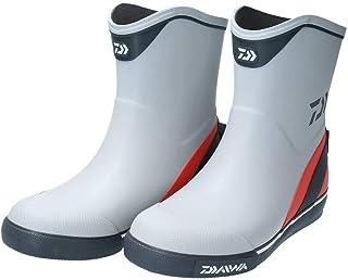 ダイワ(DAIWA) フィッシングブーツ デッキブーツ グレー DB-2411 船釣り用長靴