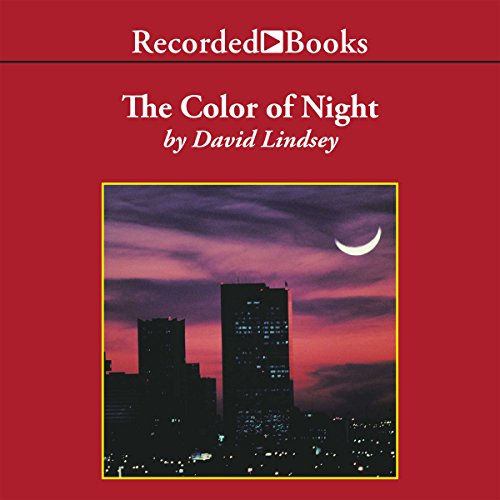 The Color of Night audiobook cover art