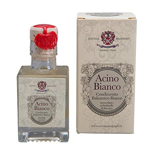 Malpighi社 ホワイトバルサミコ酢「アチノ・ビアンコ」