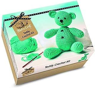 Kit para hacer tu propio oso de peluche ganchillohttps://amzn.to/2Gv5rTG