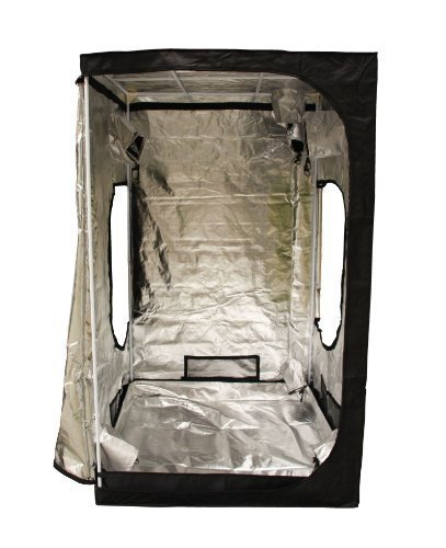 BIRCHTREE Quality Portable Grow Tent Silver Mylar Green Room Hydroponic Bud...