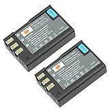 DSTE 2x EN-EL9 Ricaricabile Li-ion Batteria per Nikon D40 D40x D60 D3000 D5000 Macchina Fotografica