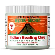 Aztec Secret – Indian Healing Clay 1 lb – Deep Pore Cleansing Facial & Body Mask – The Original 100% Natural Calcium Bentonite Clay – New Version 2