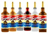 Torani flavored syrups variety pack
