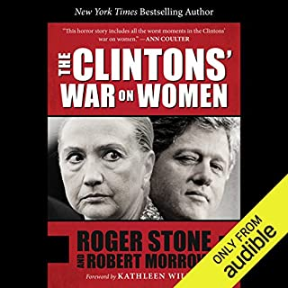 The Clintons' War on Women audiobook cover art