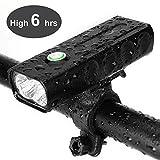 Fahrrad Scheinwerfer USB wiederaufladbare 1000 Lumen Fahrrad Frontleuchte hoch hell