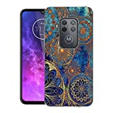 CaseExpert Motorola One Zoom/One Pro Case, Pattern Soft