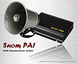 SNOM PA1 IP Phone Paging System with Paging Horn Amplifier