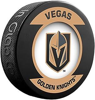 Las Vegas Golden Knights NHL Sher-Wood Souvenir Retro Puck