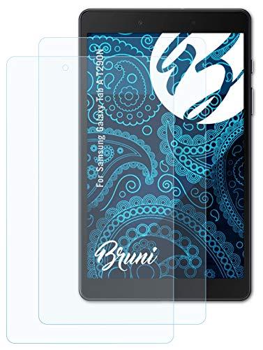 Bruni Schutzfolie kompatibel mit Samsung Galaxy Tab A T290N Folie, glasklare Bildschirmschutzfolie (2X)