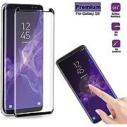 Panzerglas Schutzfolie für Samsung Galaxy S9 Plus, Anti-Öl, 9H Härte, Anti-Kratzen, Panzerglasfolie Gehärtetem Glas Displayschutzfolie für Galaxy S9 Plus (Galaxy S9 Plus)