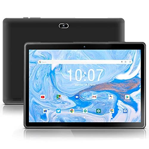 qunyiCO Tablet 10.1 Pollici Android 10.0 Go Y10, 2GB di RAM 32 GB di archiviazione, Doppia Fotocamera da 2MP+8MP, processore Quad-Core ,Schermo IPS HD 1280x800,Wi-Fi, Nero, Certificazione Google GMS …