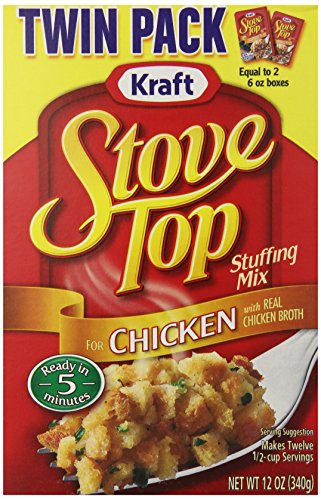 packaged stuffing side dishes Stove Top Stuffing Mix, Chicken, Twin Pack (Pack of 9)