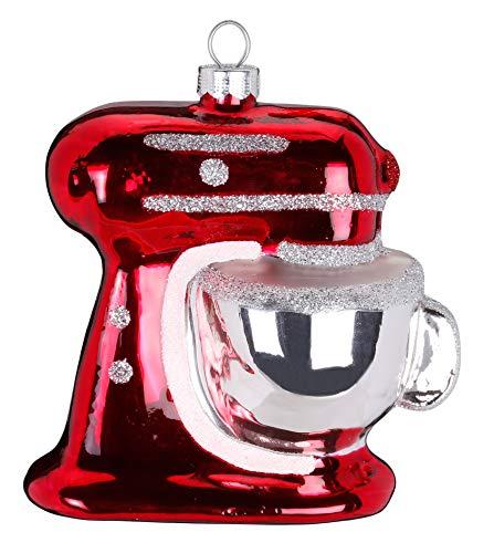 Inge Glas Magic Christbaumschmuck Mixer 9cm Weihnachtskugel Kuechenmaschine
