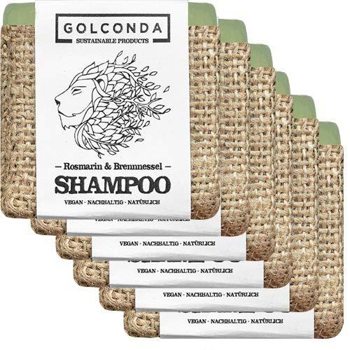 GOLCONDA Haarseife Rosmarin 6x65 g