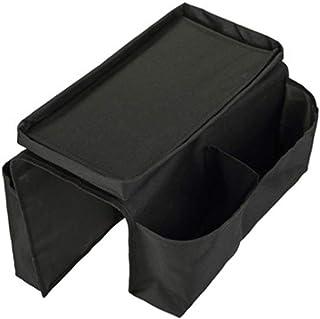 Lorenlli Organizador de la bandeja de la bolsa de la bolsa de soporte del control remoto del brazo del sofá de 6 bolsillos para las bolsas de almacenamiento en el hogar