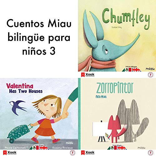 Cuentos Miau Bilingüe para Niños 3 cover art